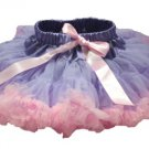 Two-Tone Lavender & Light Pink Petti Skirt (medium)