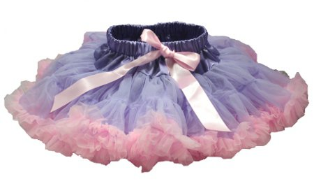 Two-Tone Lavender & Light Pink Petti Skirt (large)