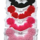 White with Hot Pink Flowers Petti Tank Top (extra large)