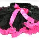 Black & Hot Pink Two-Tone Pettiskirt (medium)