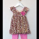 Leopard Love Top & Leggings (4-6years)
