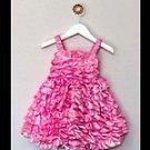 Pink Petunia Bubble Dress (12-24 months)