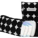 Black & White Disco Dots Diapee & Wipee