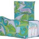 Groovy Turquoise Swirls Diapee & Wipee