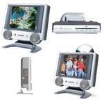 """Axion - AXN-7080 - 8.4"""" TFT LCD TV With Built-In DVD Player"""