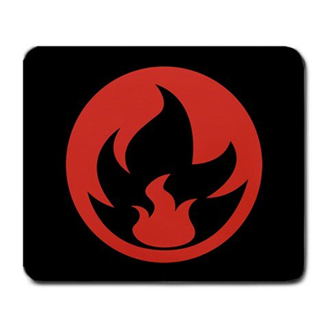 Stores That Accept Paypal >> Pokemon TCG Fire Energy Symbol Mousepad MP006