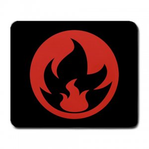 What Stores Accept Paypal Credit >> Pokemon TCG Fire Energy Symbol Mousepad MP006