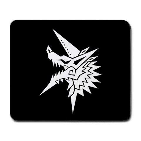 What Stores Accept Paypal Credit >> Monster Hunter Jinouga Logo Mousepad MP014