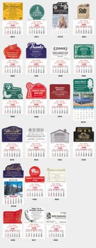 NewCal Stick-On Calendars