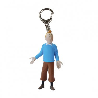 TINTIN BLUE SWEATER PVC KEY RING  NEW COLLECTION