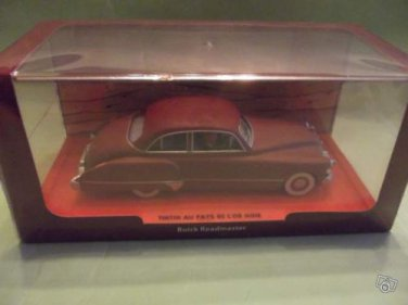 """The red American Buick from """"The Land of Black Gold"""",1/43 New Edition"""