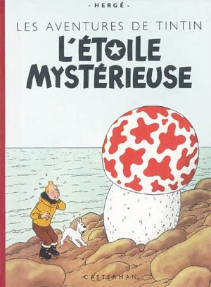 TINTIN ET L'ETOILE MYST�RIEUSE FACSIMILE CASTERMAN SEALED / SELL�