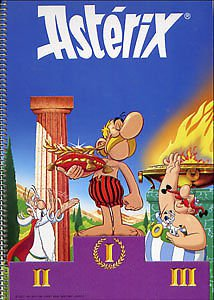 ASTERIX AND THE OLYMPICS SPIRAL NOTE BOOK