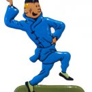 TINTIN & THE BLUE LOTUS METAL FIGURINE NEW RARE COLLECTIBLE