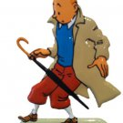 TINTIN & THE CALCULUS AFFAIR METAL FIGURINE NEW RARE IMPORT