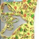 Paul Frank Hulius Julius bathing suit Bikini set X-Small