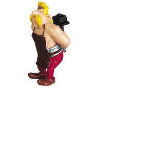 Cetautomatix Plastic figurine Plastoy Asterix
