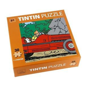 Tintin amilcar 30 pieces puzzle children new and sealed
