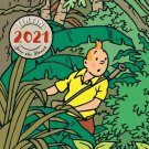 TINTIN WALL CALENDAR 2021 SAVE THE PLANET NEW SEALED 30 X 30 CM