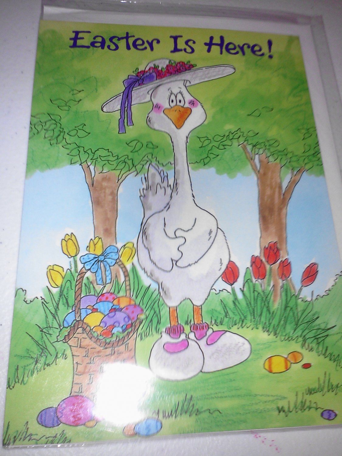 Happy Easter Greeting Card By Pacific Graphics