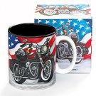 All American Motorcycle Flag - Mug burton + Burton