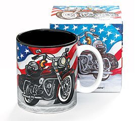 All American Motorcycle Flag - Mug burton + Burton