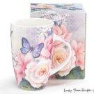 Graceful Gardens With Pink Roses - Mug burton + Burton