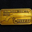 Thompson Center 2002 Hat Lapel Tie Tack Tac Badge Gun Pin
