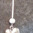 "BioFlex Pregnancy "" Made With Love ""Navel Ring  Dangle"