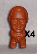 Funny Gag Novelty Figurine - x4 (4 units 15% Savings)