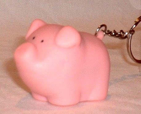 Pooping Pig Novelty Keychain - Pottyheads Gag gift