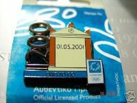 athens 2004 Count Down 1200 days pin English