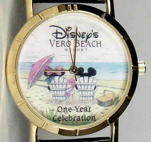 Disney Minnie Mouse and Mickey Mouse Watch! From Resort! Wow! Brand-new! HTF!