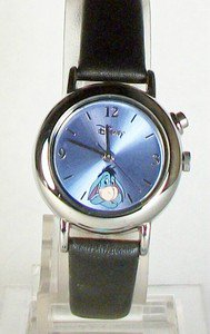 Disney Stunning Blue Pastel Musical Eeyore Watch! New! + Free Gift!