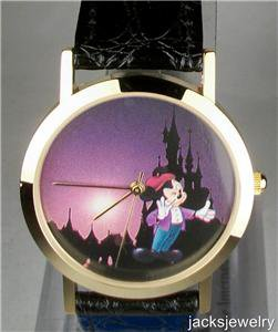 New Disney Euro Disney Mickey Mouse Watch! Hard To Find!