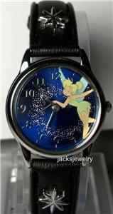Disney New StarDust Tinkerbell Watch! Gorgeous Blue Dial! Rare