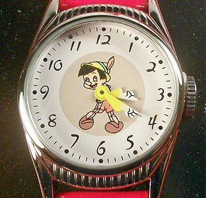 Disney New Limited Edition Ingersoll Pinnochio Watch! ONLY 2,000 MADE! COA!