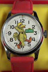 New BradleyTime Wind-up Big Bird Watch! Hard To Find!