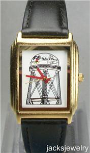 Disney Stunning MGM Water Tower Mickey Mouse Watch! Wow! New!