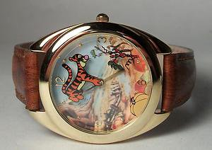 New Disney Limited Edition Tigger Watch Watch! Hard To Find! Free Gift & Watch!