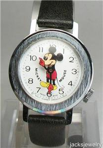 Disney New Nodding Head Bradley Mickey Mouse Watch! Hard To Find!