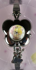 Disney New Ladies Tinkerbell Watch! Butterfly Shape Bezel! Free Gifts!
