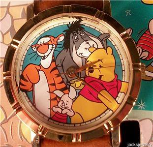 Disney Limited Edition Winnie the Pooh Watch! New! HTF!