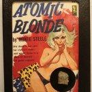 Trinitite Display, Atom Bomb Glass, Pop-Sci Atomic Art