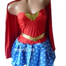 5-pc Wonder Woman Halloween Costume