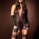 Garter Chemise / Gloves / G-String Set