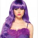 Starbright Long Wavy Wig purple