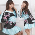 Satin Charmeuse Geisha Costume S