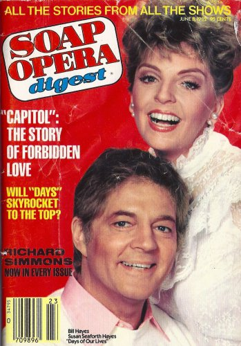 Bill & Susan Seaforth Hayes (Days of Our Lives) * June 8, 1982 Soap Opera Digest Magazine