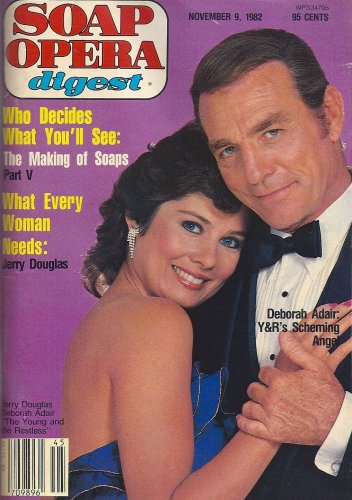 Jerry Douglas & Deborah Adair (Young and the Restless) - November 9, 1982 Soap Opera Digest Magazine